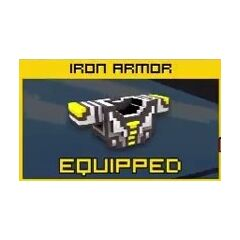 Iron Armor: 3400 coins, 71 shields, middle defense.