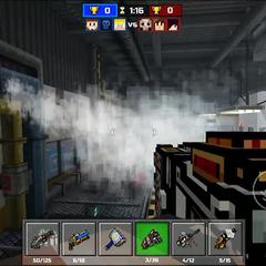 Some smoke.