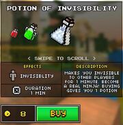 INVISIBILITYpotion