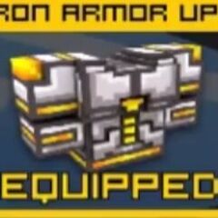Iron Armor Up2: 3400 coins, 132 shields, high defense.