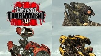 Unreal Tournament 3 WEAPONS SHOWCASE Full Crop Video File for Modders