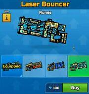 Runes LaserBouncer