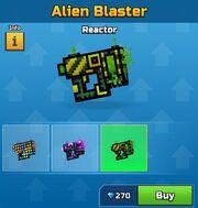 Reactor Alien Blaster