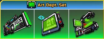 Art Dept. Set