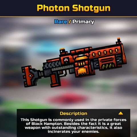 The Photon Shotgun in Gallery.