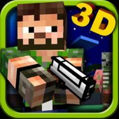 The Pixel Gun wielded in the old game icon.