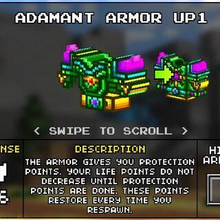 Medium Adamant Armor.