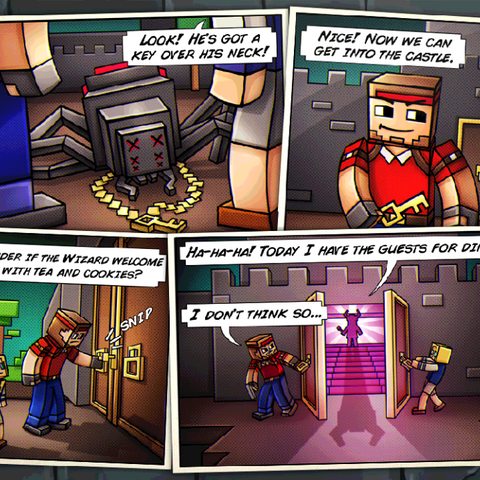 Story comic for Castle.