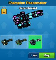 Supercharged Champion Peacemaker