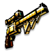 Gold steam revolver