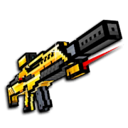 Gold secret forces rifle