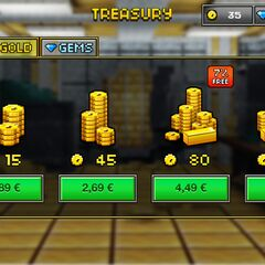 The look of the coins shop before the 12.5.0 update.