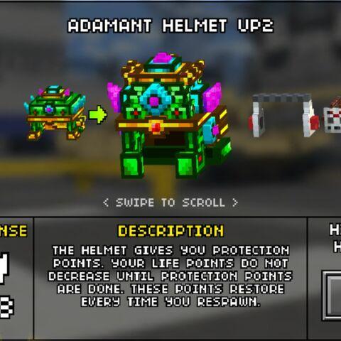 Heavy Adamant Helmet.