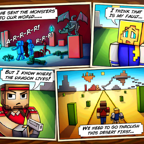 The second comic.