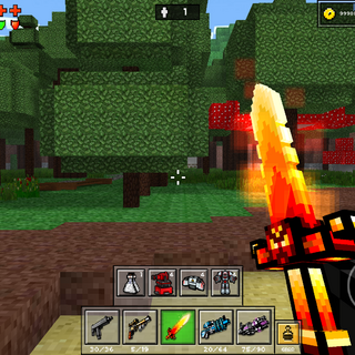 The Fire Demon in use.