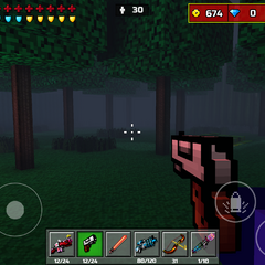 Trees that are near spawn.