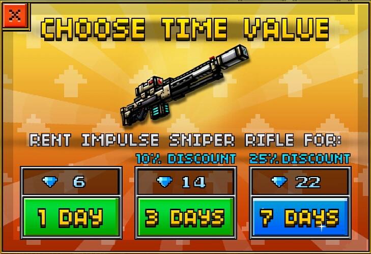 Categoryrentable Weapons Pixel Gun Wiki Fandom Powered By Wikia