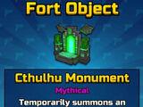 Cthulhu Monument
