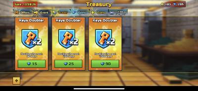 Key-doubler
