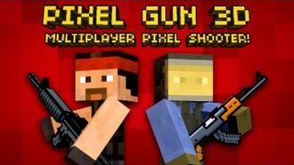 Pixel Gun 3D - Multiplayer shooter in Minecraft style! New official trailer!