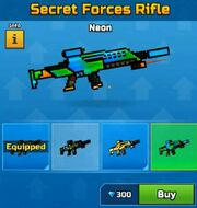 Neon SecretForcesRifle