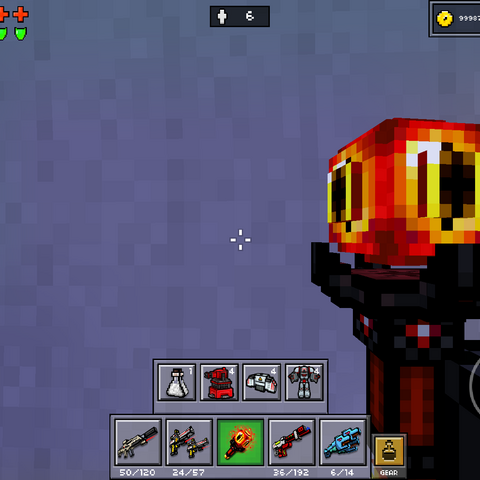 The Fire Orb in use.