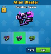 Portalium Blaster Alien Blaster