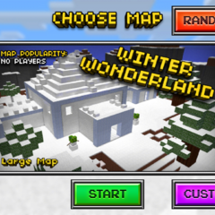 The multiplayer icon for Winter Wonderland.