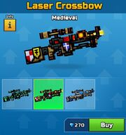 Medieval Laser Crossbow