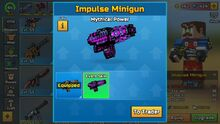 Mythical Power - Impulse Minigun