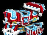 Cyber Santa Boots