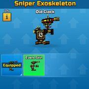 Old Clock Sniper Exoskeleton