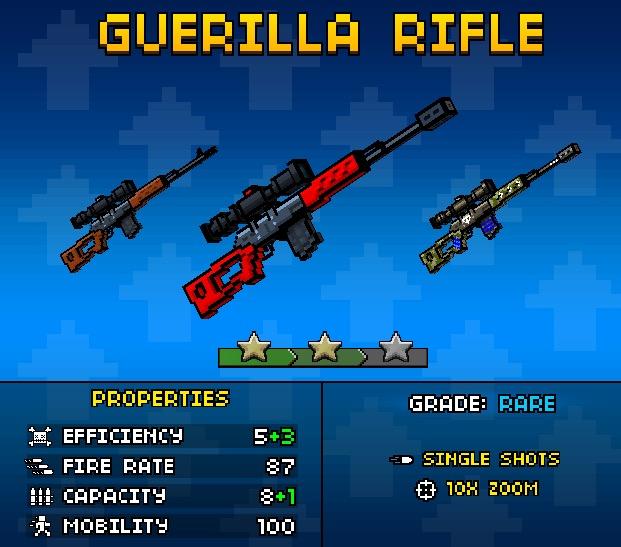 Guerrilla Rifle Up1 (PG3D)