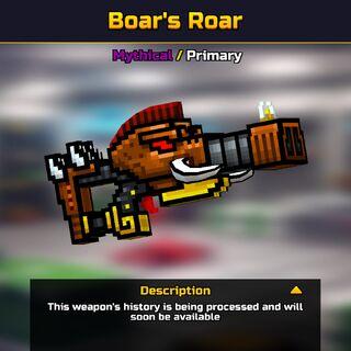 The Boar's Roar in the <a href=