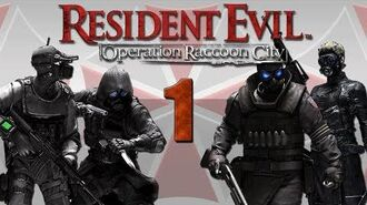 Resident Evil - Operation Raccoon City 4 Player Co-op Mission 1 Containment Ep.1