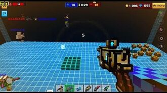 Pixel Gun 3D - Developer Scene Team Deathmatch OOOOOOOHHHHH Secret Map