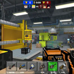 The Battle Mech can be found in the facility (it is in the background of this image).