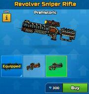 Prehistoric RevolverSniperRifle