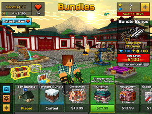 Microtransaction bundle