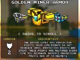 Golden Miner Armor