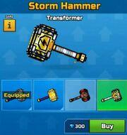 Transformer StormHammer