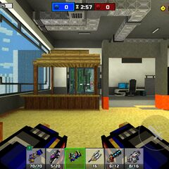 The room containing the assets of Shooting Range.