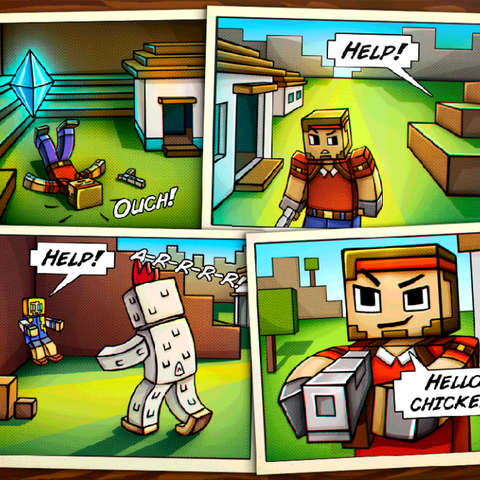 The story comic for Village.
