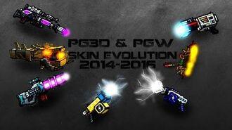 Pixel Gun PG3D-PGW My Evolution Skin 2014-2016