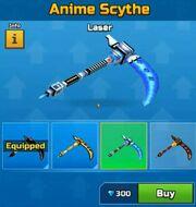 Laser AnimeScythe