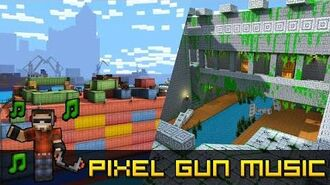 Aztec Temple Cargo Ship (v2) Big Barge - Pixel Gun 3D Soundtrack HQ