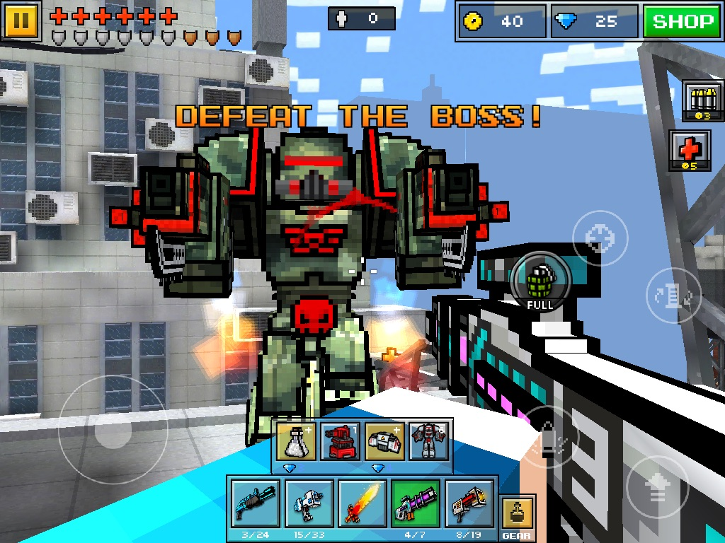 Military Mech Pixel Gun Wiki Fandom Powered By Wikia