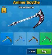 Necromancer AnimeScythe