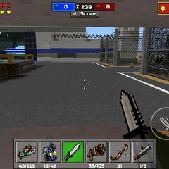 Inside a sniper area.