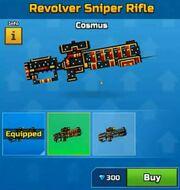 Cosmus RevolverSniperRifle